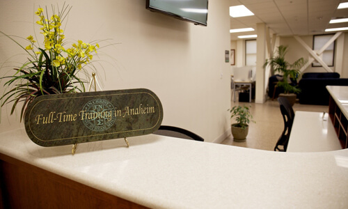 FTTA Reception Desk